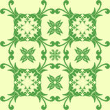 Ornament. Illustration of an ornament in the form of leaves and branches Royalty Free Stock Photo