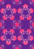 Ornament. Abstract pattern for an ornament of a congratulatory card Royalty Free Stock Photo