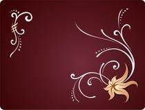 Ornament. Decorative rasterized vector ornament Stock Photo