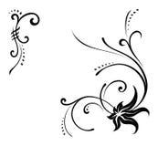 Ornament. Decorative rasterized vector ornament