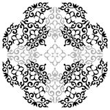 Ornament. Al design, digital artwork, pattern stock illustration