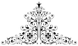 Ornament. Al design, digital artwork, isolated royalty free illustration
