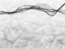 Ornament abstract zwart-wit weefsel Stock Fotografie