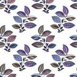 ornament abstrakcyjne ilustracja kolorowa Akwarela rysunek li?cie r??ni kolory Liście i gałąź dla projekta ilustracji