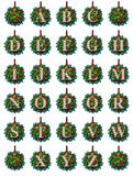 Ornament Alphabet Royalty Free Stock Photography