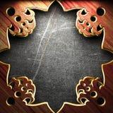 Ornament antykwarska rama Zdjęcie Stock