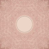 Ornament background in ethnic style Stock Image