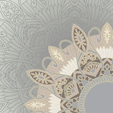 Ornament background in ethnic style Royalty Free Stock Photography