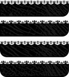 Ornament banners Royalty Free Stock Photography