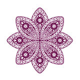 Ornament beautiful ethnic mandala. Geometric circle element. Vector illustration Royalty Free Stock Image