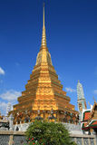Ornament: beautiful gold pagoda at Wat Phra Kaew. Thailand Royalty Free Stock Image