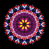 Ornament beautiful pattern with mandala. Geometric circle element made in vector Stock Photo