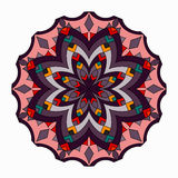 Ornament beautiful pattern with mandala. Geometric circle element made in vector Stock Images