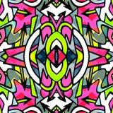 Ornament beautiful pattern with mandala vector illustration Royalty Free Stock Photo