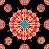 Ornament beautiful pattern with mandala. vector illustration Royalty Free Stock Photos