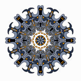Ornament beautiful pattern with mandala. vector illustration Stock Image
