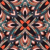 Ornament beautiful seamless pattern with mandala. beautiful background vector illustration