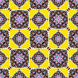 Ornament beautiful seamless pattern with mandala. beautiful background. (vector eps 10 Stock Image