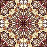 Ornament beautiful seamless pattern with mandala. beautiful background Stock Images