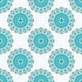 Ornament beautiful seamless pattern with mandala. vector illustration. (vector eps 10 royalty free illustration