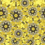 Ornament beautiful seamless pattern with mandala. vector illustration. (vector eps 10 stock illustration
