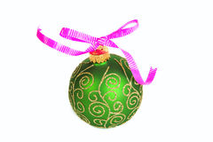 Ornament with bow Royalty Free Stock Image