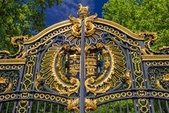 Ornament brama w Londyn obrazy royalty free