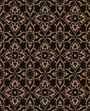 Ornament brown D Royalty Free Stock Photo