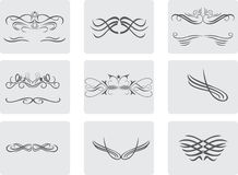 Ornament Calligraphic Elements Design Stock Image