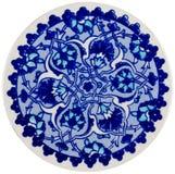 ornament ceramiczne Zdjęcia Royalty Free