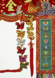 Ornament of chinese new year Royalty Free Stock Images