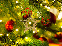 Ornament in a Christmas tree Royalty Free Stock Photo