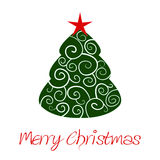 Ornament christmass tree Stock Photo