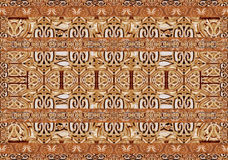 Ornament Collage Pattern Royalty Free Stock Photography