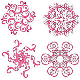 Ornament collection Royalty Free Stock Image