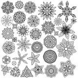 Ornament Collection Royalty Free Stock Photography