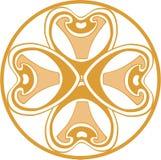 Ornament in color 16. Vector. Ornament flower in color 16 vector illustration