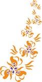 Ornament in color 20. Vector. Ornament flower in color 20 vector illustration