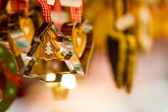 Ornament and Cookie Cutter Stock Image