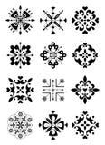 Ornament, decor, patroon stock illustratie