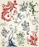 Ornament decoration floral design Stock Image