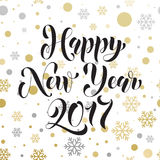 Ornament decoration pattern background golden New Year  Stock Photography