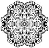 Ornament design element, mandala. Royalty Free Stock Photography