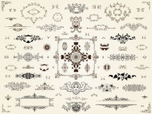 Ornament design elements Royalty Free Stock Image
