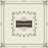 Ornament design invitation template. flourishes calligraphic vintage frame. Good for Luxury, boutique brand, wedding. Shop, hotel sign vector illustration