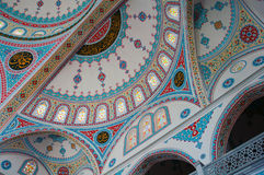 Ornament on the dome of  Blue Mosque in Manavgat, Turkey Stock Photo