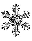 Ornament. Drawing snow Snowflack for background Royalty Free Stock Photo