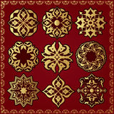 Ornament elements Royalty Free Stock Photo