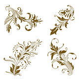 Ornament  elements. Royalty Free Stock Photo