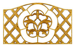 Ornament elements, vintage gold floral designs. Ornament elements, vintage gold floral Royalty Free Stock Photo